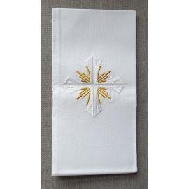 Puryfikaterz krzyż złote płomienie - 100% bawełny