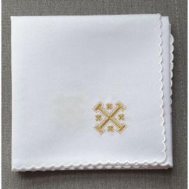 Korporał haftowany w 4 rogach - Krzyż Jerozolimski