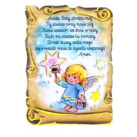 Magnes Aniołek - Aniele Boży Stróżu Mój ...