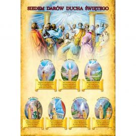 Plakat - Siedem darów Ducha Świętego