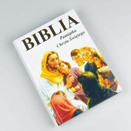 Biblia w obrazkach dla najmłodszych - Pamiątka Chrztu Świętego
