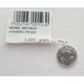 Medalik Świętego Benedykta 1g