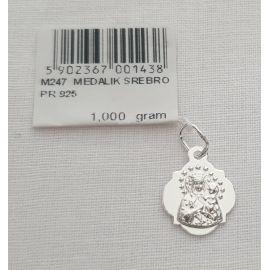 Medalik Matki Bożej Częstochowskiej 1 g (1)