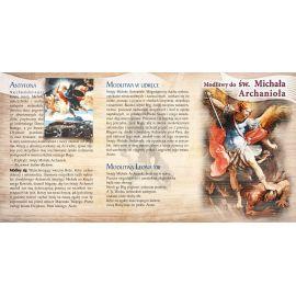 Folder składany Modlitwy do św. Michała Archanioła