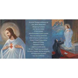 Folder składany Serce Jezusa