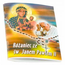 Książeczka Różaniec ze świętym Janem Pawłem II