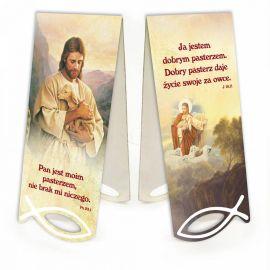 Zakładka Jezus - Pan jest moim pasterzem...