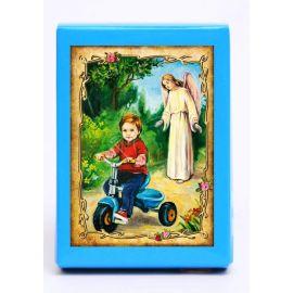 Puzzle religijne dla dzieci 40 elementów Anioł Stróż (7)