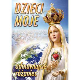 Puzzle religijne dla dzieci 40 elementów Matka Boża Fatimska (8)