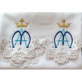 Obrus Maryjny haftowany (86)