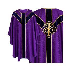 Ornat Semi-Gotycki - kolor fiolet (49)