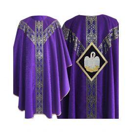 Ornat Semi-Gotycki kolor fiolet (50)