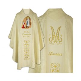 Ornat haftowany Matka Boska z Lourdes (02)