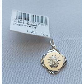 Medalik Matki Bożej Częstochowskiej 1,5 g (3)