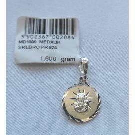 Medalik Matki Bożej Częstochowskiej 1,6 g (4)