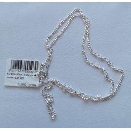 Łańcuszek srebrny 50 cm - 3,2 g