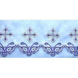 Obrus ołtarzowy haftowany - Krzyż (67)