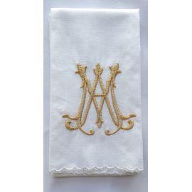 Puryfikaterz złoty emblemat Maryjny - 100% bawełny