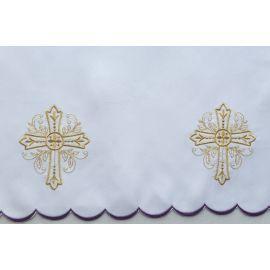 Obrus ołtarzowy haftowany - wzór eucharystyczny (207)