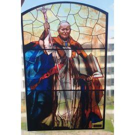 Witraż magnetyczny - Jan Paweł II