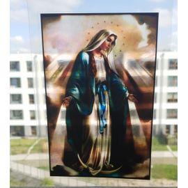 Witraż magnetyczny - Matka Boża Niepokalana