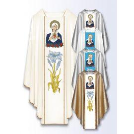 Ornat maryjny Serce Maryi (500)