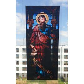 Witraż magnetyczny - św. Paweł