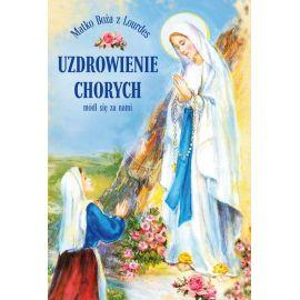 Plakat Lourdes - Uzdrowienie chorych