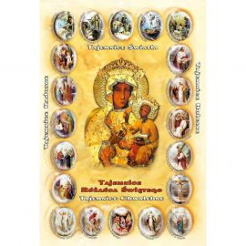 Plakat - Tajemnice różańca świętego (3)