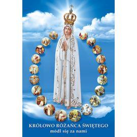 Plakat - Królowa Różańca Świętego... (2)