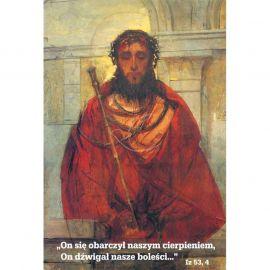 Plakat Wielkanocny - On się obarczył naszym cierpieniem