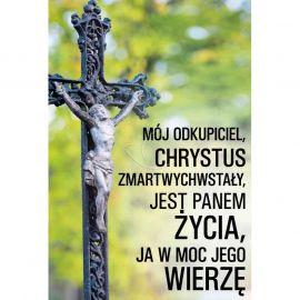 Plakat - Mój odkupiciel Chrystus