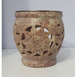 Kadzielnica domowa - kamień mydlany - 8,5 cm (3)