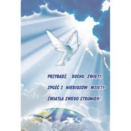 Plakat - Przybądź, duchu święty