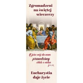 Baner - Nowy Rok Liturgiczny - Zgromadzeni na Świętej Wieczerzy