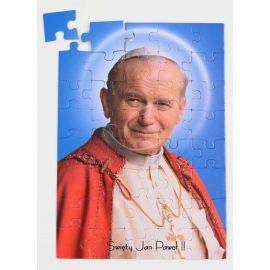 Puzzle religijne dla dzieci 40 elementów Jan Paweł II (10)