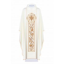 Ornat haftowany symbol IHS - kolory liturgiczne