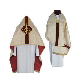 Welon liturgiczny PX brokat jasnozłoty