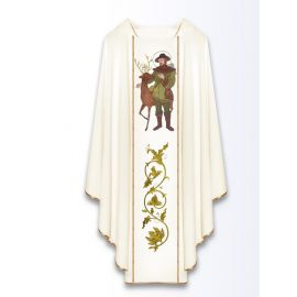 Ornat z wizerunkiem św. Huberta