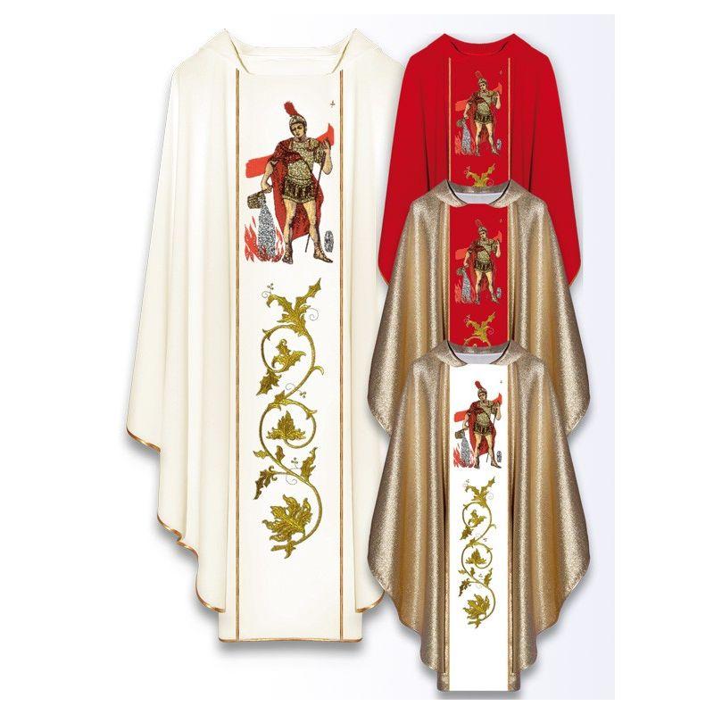 Ornat z wizerunkiem św. Floriana