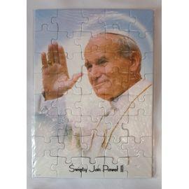 Puzzle religijne dla dzieci 40 elementów Jan Paweł II (12)