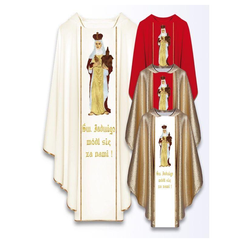 Ornat z wizerunkiem św. Jadwigi
