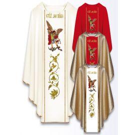 Ornat z wizerunkiem św. Michała Archanioła