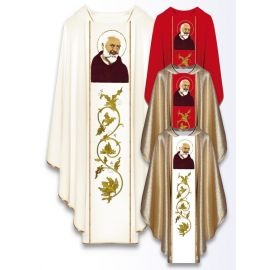 Ornat z wizerunkiem św. Ojca Pio