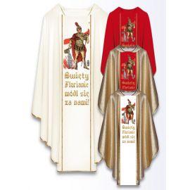 Ornat z wizerunkiem św. Floriana (434)
