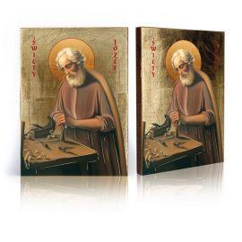 Ikona Święty Józef przy pracy