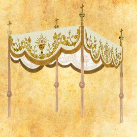 Baldachim procesyjny haftowany (8)
