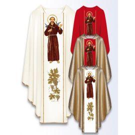 Ornat z wizerunkiem św. Franciszka