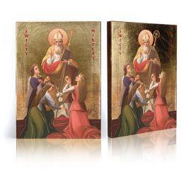 Ikona Święty Mikołaj (3)