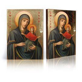 Ikona Święta Anna z Matką Bożą (2)